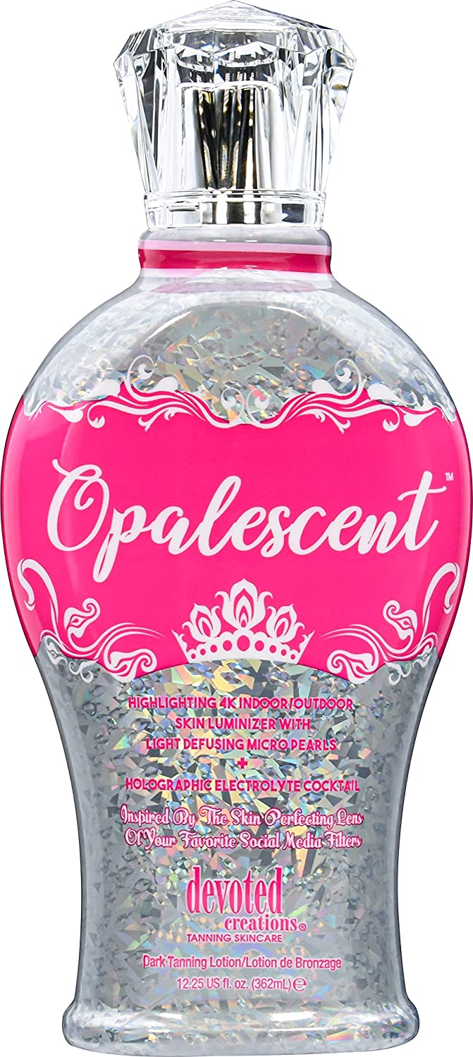 Devoted Creations Opalescent Tanning 5 Milwaukee Mall ☆ popular Lotion oz 12.25