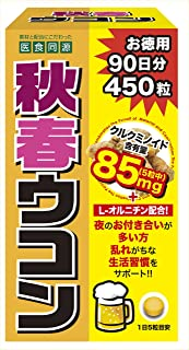 ISDG 秋春ウコン 450粒