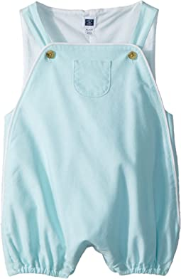 Janie and Jack Oxford Overalls (Infant)