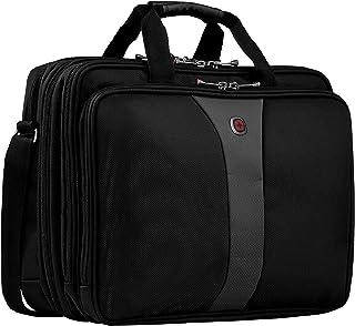 Wenger Legacy Aktentasche, Laptoptasche zum Umhängen, Notebook bis 17 Zoll, 19 l, Damen Herren, Büro Business Uni Schule, ...