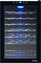 Vinotemp VT-48 TS 48-Bottle Touch Screen Wine Cooler, Black