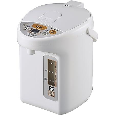 象印マホービン 電気ポット 2.2L 優湯生 省エネ 5段階保温設定 ホワイト CV-TY22-WA