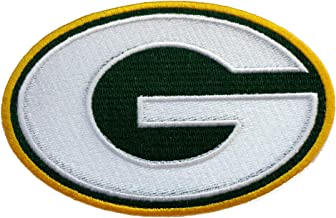 InspireMe Family Owned Packers Football Fully Embroidered Iron-on Patch 8.9cm6.3cm