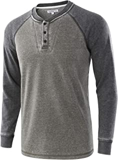 HARBETH Mens Casual Athletic Fit Soft Fleece Baseball Active Sports Sweatshirts