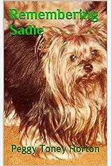 Remembering Sadie Kindle Edition