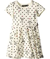 Rock Your Baby - Hokey Pokey Short Sleeve Waisted Dress (Toddler/Little Kids/Big Kids)