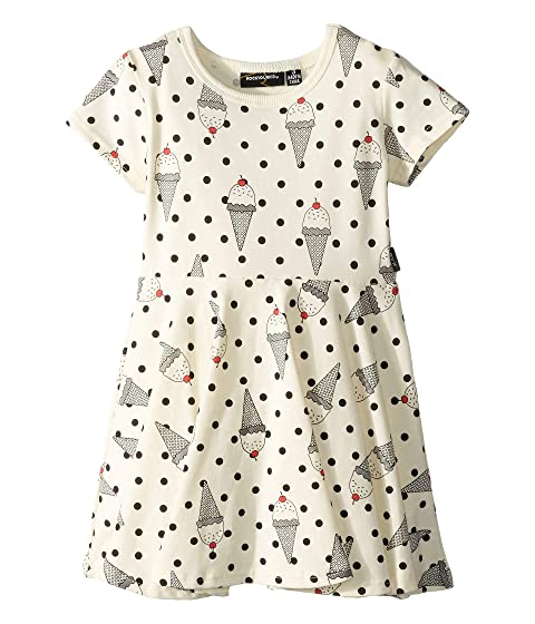 Rock Your Baby Hokey Pokey Short Sleeve Waisted Dress (Toddler/Little Kids/Big Kids)