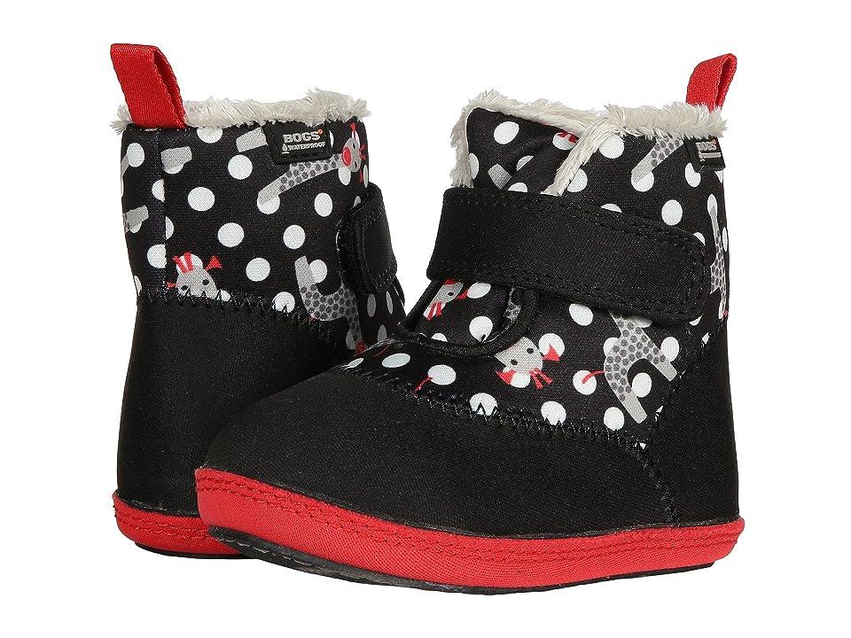 Bogs Kids Elliot Giraffe (Infant/Toddler) (Black Multi) Girls Shoes