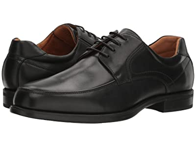 Florsheim Midtown Moc Toe Oxford (Black Smooth) Men