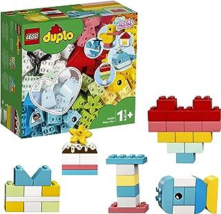 LEGO DUPLO Classic 10909 Heart Box Building Kit (80 Pieces)