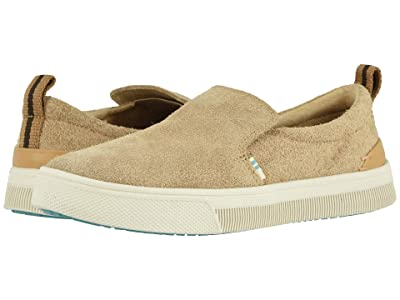 TOMS TRVL LITE Slip-On (Desert Tan Shaggy Suede) Women