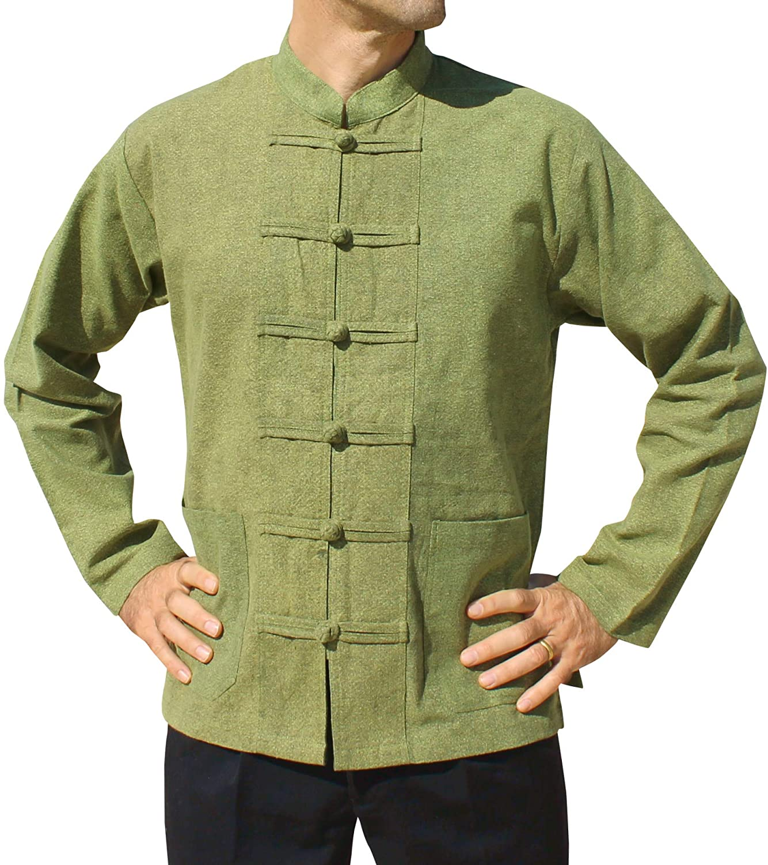 Svenine Reservation Stonewash Medieval Cotton Shirt Jacket Collar Chinese Cash special price Lo