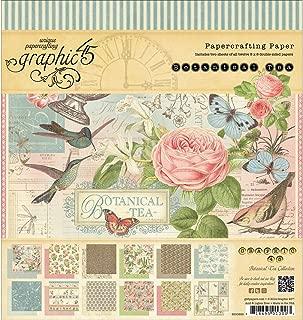 botanical tea paper