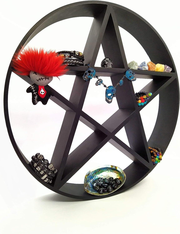 Regular store Pentagram Shelf - 67% OFF of fixed price Horror Gothic Décor Crystal