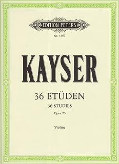 36 Etüden op. 20