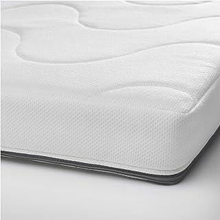 IKEA/イケア KRUMMELUR フォームマットレス ベビーベッド用60x120x8 cm ホワイト/グレー40348522