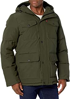 Levi's Men's Big & Tall Quilted Parka Jacket