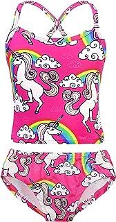 AmzBarley Swimwear for Girls Unicorn Bathing Suit Summer Beach Party Swimsuit Two-Piece Suit Kids Bikini Suit