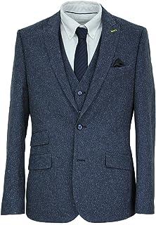 HARRY BROWN Men's Suit London Collection Slim Fit 3 Piece