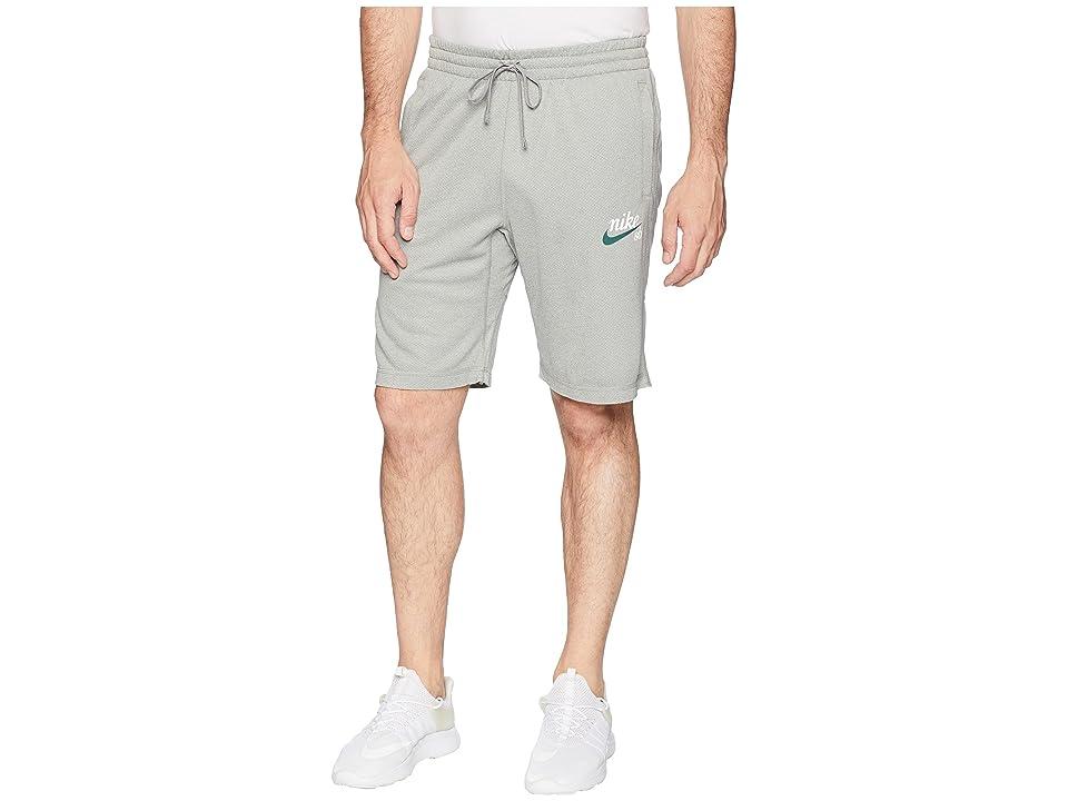 Nike SB SB Dry Sunday Crafty Shorts (Dark Grey Heather/White) Men