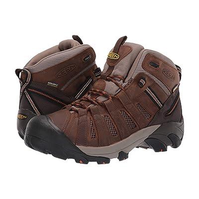 Keen Utility Cody Soft Toe Waterproof (Cascade Brown/Caramel) Men