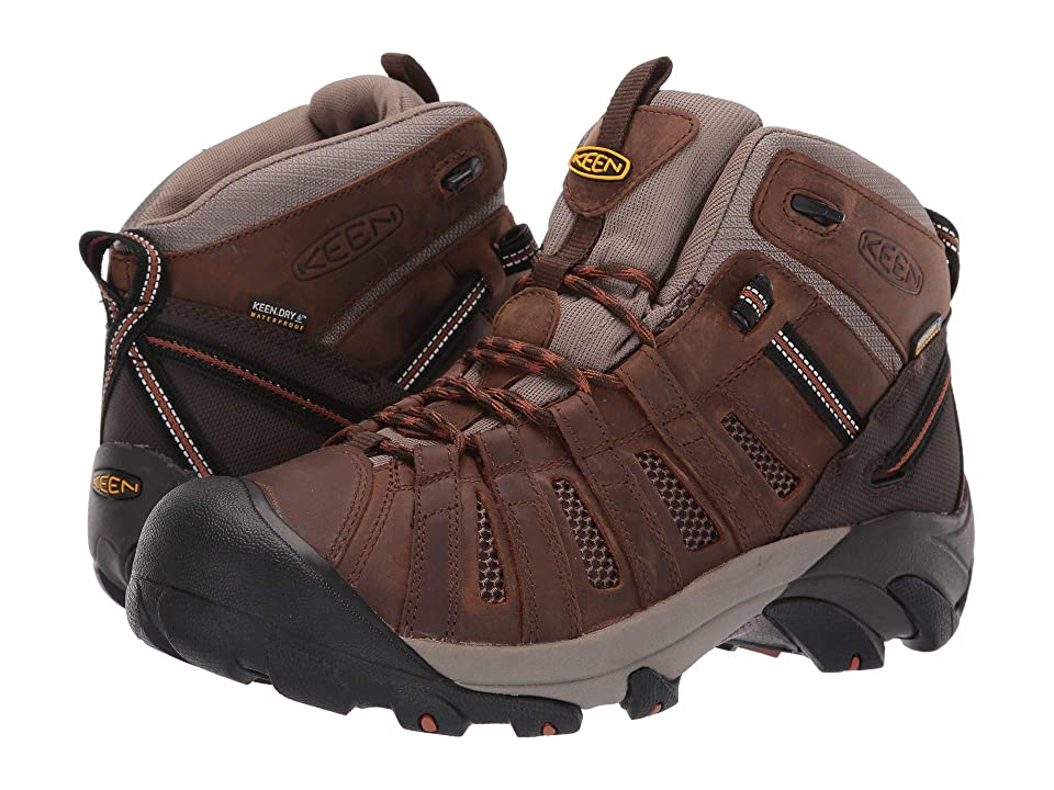 Keen Utility Cody Soft Toe Waterproof (Cascade Brown/Caramel) Men
