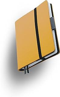 Weißbook SLIM S212-SX, modulares Notizbuch, Veaux Prestige, geschnitten, Curry Togo, 120 S. Papier FSC B00V8DCBFU  Preisrotuktion