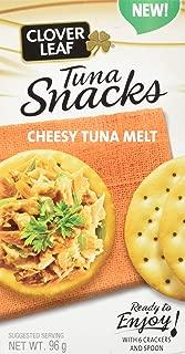 Clover Leaf Tuna Snack Kit Cheesy Melt, 12 Count