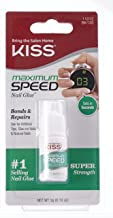 Kiss Products Maximum Speed Nail Glue, 0.10 oz
