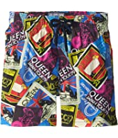 Vilebrequin Kids - Queen Tour Superflex Jirise Swim Trunks (Little Kids/Big Kids)