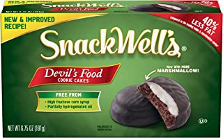 SnackWell's Devil's Food Cookie Cakes, 6.75 Ounce