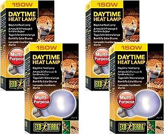 Exo Terra Sun-Glo Neodymium A21 Lamp, 150-Watt (4 Pack)