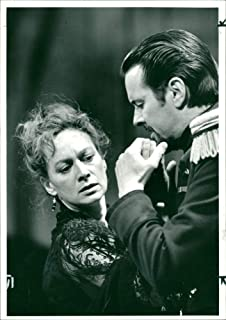 Vintage photo of Francesca Annis and Ian