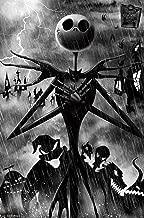 Trends International Disney Tim Burton's The Nightmare Before Christmas-Shadows Mount Bundle Wall Poster, 22.375