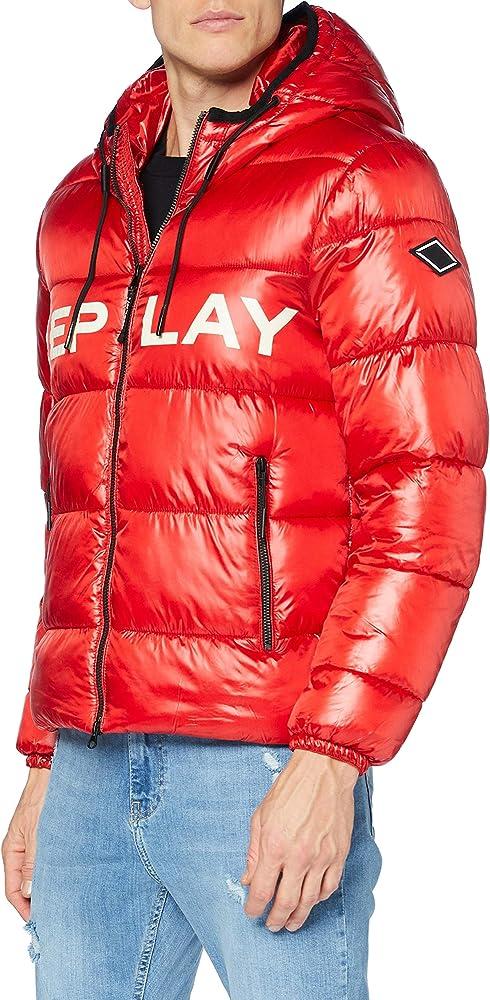 Replay, giacca,giubotto per uomo imbottito,in 100% poliestere M8091 .000.83834