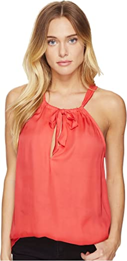 Alonza Tie Front Tank Top
