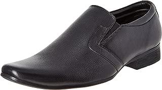 BATA Men's Mascot Slipon Black Leather Formal Shoes - 8 UK/India (42 EU)(8546523)