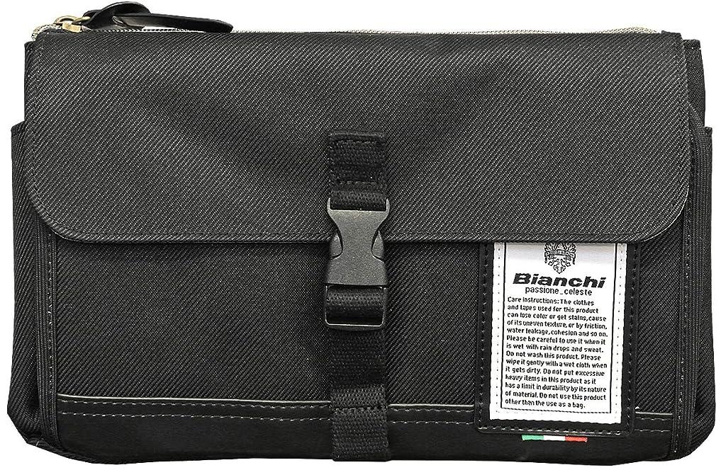 地理遡る控える[ビアンキ] Bianchi NBTC-57 DIBASE(ディバーゼ) 仕切りポケット付き 薄マチ2wayショルダー
