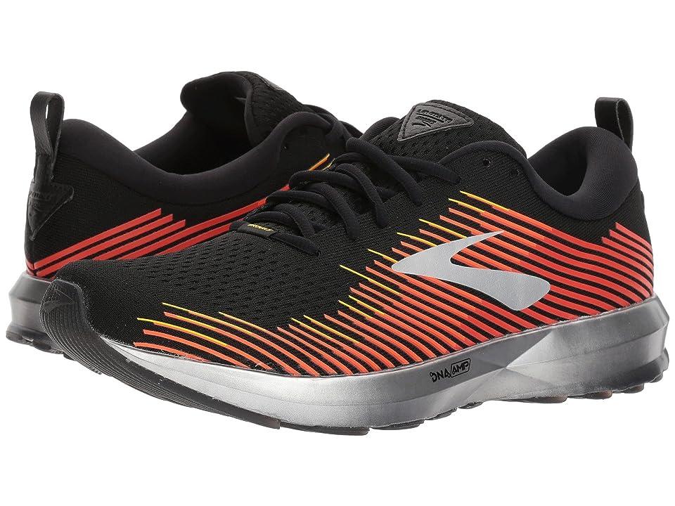746321a3061 Brooks Levitate (Black Red Orange) Men s Running Shoes