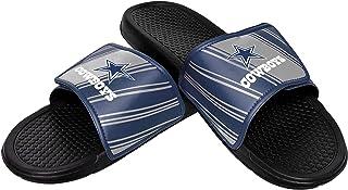 FOCO Men's NFL Stripe Legacy Velcro Sport Slide