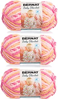 Bernat Baby Blanket Yarn (3-Pack) Peachy 161103-3510