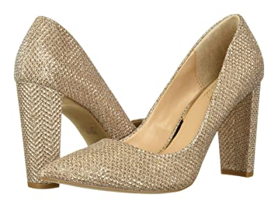 Jewel Badgley Mischka Rumor (Champagne Glitter) Women