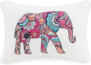 Vera Bradley A075416MUIGE Elephant Decorative Pillow, 12X18''