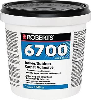 Roberts 6700-0 Artificial Turf Adhesive, 1 Quart