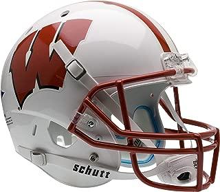 Schutt NCAA Wisconsin Badgers Replica XP Football Helmet, Classic