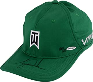 Tiger Woods Autographed Green Nike Victory Hat Limited Edition of 25- Upper Deck - Fanatics Authentic Certified