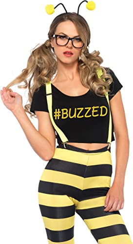 Buzzed Bee, Grün XS, Farbe schwarz. Gelb