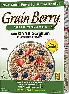 Grain Berry Cereal, Apple Cinnamon, 12 Ounce