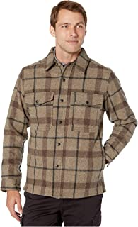Filson Men's Mackinaw Jac Shirt Taupe/Brown/Black Medium