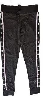 VS Pink Victorias Secret Pink Campus Yoga Legging Flat Waistband Pants Dark Gray